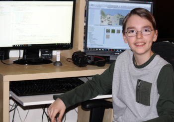 Grade 7 Student Andrei SOVA Spotlight – One of the first Canadian kids who ran his team's code on International Space Station!